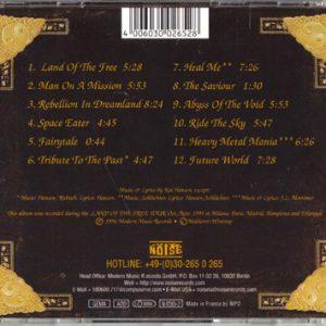 1996 – Alive 95 – France – Cd.