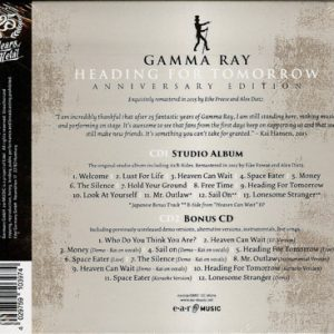 2015 – Heading For Tomorrow (Anniversary Edition) Cd – Mexico.