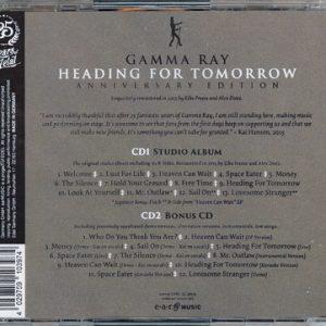 2015 – Heading For Tomorrow (Anniversary Edition) 2Cd – Russia.