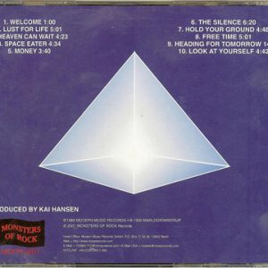 2001 – Heading For Tomorrow – Cd – Russia – Monsters of Rock – Bootleg.