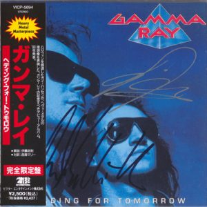 1996 – Heading For Tomorrow – Japan Cd.