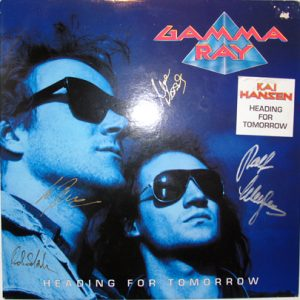 1990 – Heading For Tomorrow – LP.