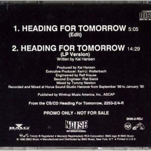 1990 – Heading For Tomorrow – Promo – Cds.