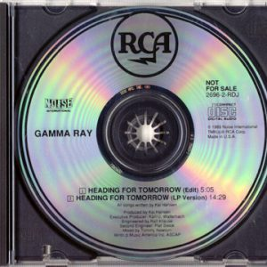 1990 – Heading For Tomorrow – Promo – Cds.