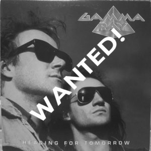 WANTED: 1990 – Heading For Tomorrow – LP – Korea.