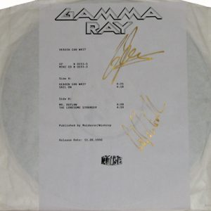 1990 – Heaven Can Wait – EP – 4 Track Testpress.
