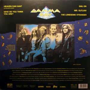 1990 – Heaven Can Wait – MLP, Blue label.