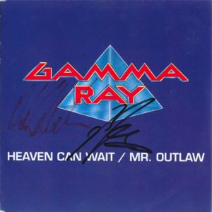 1990 – Heaven Can Wait/Mr. Outlaw – Single 7″.