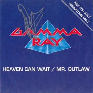 1990 – Heaven Can Wait/Mr. Outlaw – Promo Single 7″.