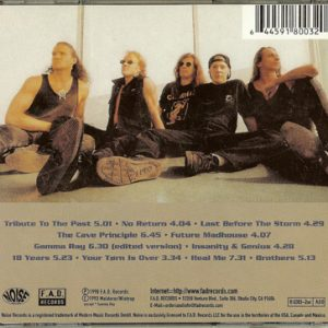 1998 – Insanity And Genius – Usa Cd.