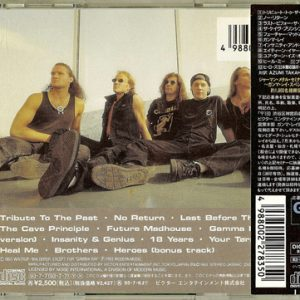 1993 – Insanity And Genius – Cd – Japan.