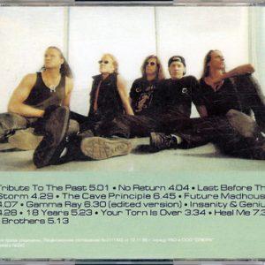 1998 – Insanity And Genius – Russia – Bootleg – Cd.