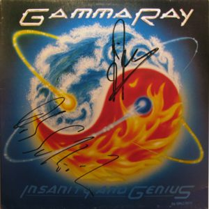 1993 – Insanity And Genius – Brazilian LP .
