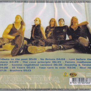 1993 – Insanity And Genius – Korea Cd.