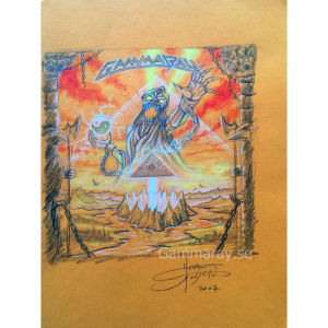 2007: Original Land Of The Free II Sketch.