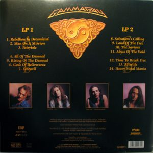 1995 – Land Of The Free – 2LP.