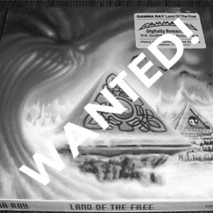 WANTED: 2002 – Land Of The Free – Cd – Korea.