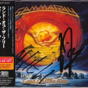 1995 – Land Of The Free – Japan Cd.
