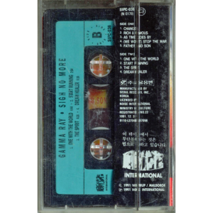 1991 – Sigh No More – Tape – Korea.