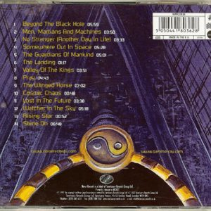 2007 – Somewhere Out In Space – Cd.