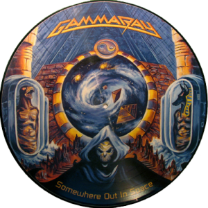 1997 – Somewhere Out In Space – Picture Disc.