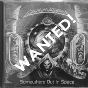 WANTED: 1997 – Somewhere Out In Space – Argentina – Cd.