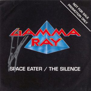 1990 – Space Eater/The Silence – Promo Single 7″.