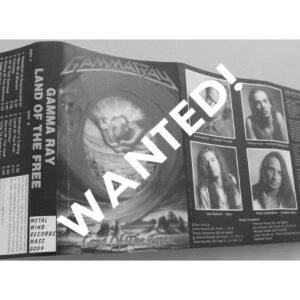 WANTED: 1995 – Land Of The Free – Tape – Poland.