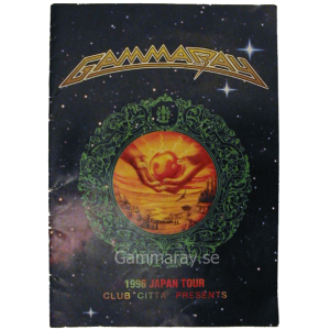 1996 – Japan Tour -96 Program.