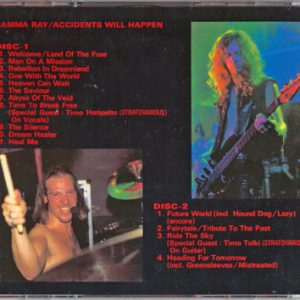 1996 – Accident Will Happen – 2Cd – Japan – Bootleg.