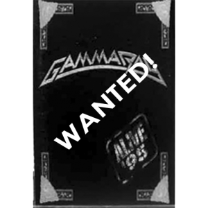 WANTED: 1996 – Alive 95 – Tape – Korea.