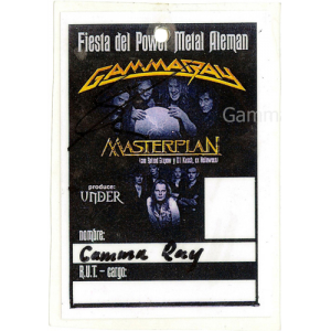 2003 – South America Tour Pass.