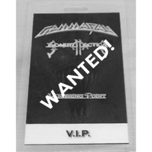 WANTED: 2001 – No World Order – VIP Pass.