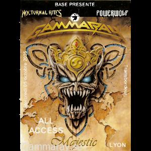 2005 – Majestic Tour – Lyon – 5/10.