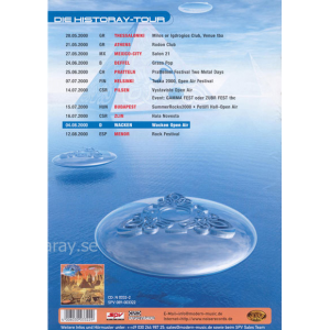 2000 – Blast From The Past – Pressfolder Promo Flyer.