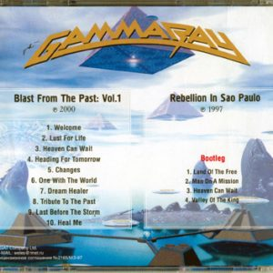 Blast From The Past: Vol.1 / Rebellion In Sao Paulo – Cd – Russia – Bootleg.