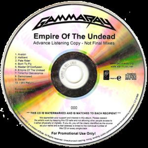 2014 – Empire Of The Undead – Promo Cd.