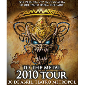 WANTED: 2010 – To The Metal Tour – 30/4 -10 – Columbia – Flyer.