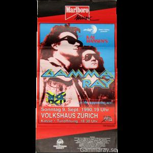 1990 – Tour Poster – Volkshaus Zurich.