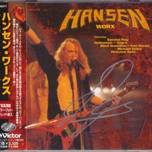 1997 – Hansen Worx – Japan Cd.
