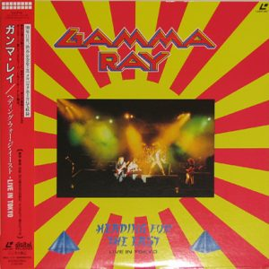 1991 – Heading For The East – LaserDisc – Japan.