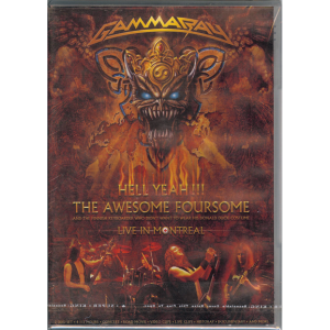 2008 – Hell Yeah!!! The Awesome Foursome – 2DVD – Russia.
