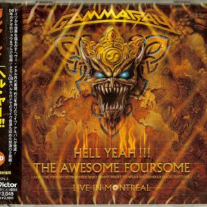 2008 – Hell Yeah!!! The Awesome Foursome – 2Cd – Japan Promo.