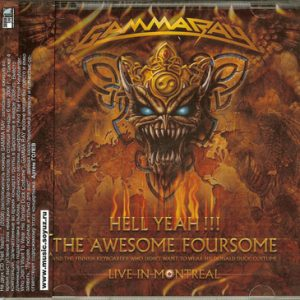 2008 – Hell Yeah!!! The Awesome Foursome – 2Cd – Russia.