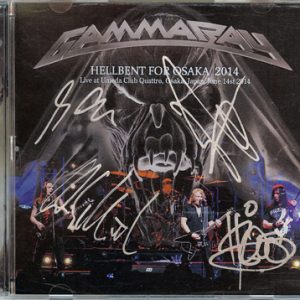 2014 – Hellbent For Osaka – 2Cd – Japan – Bootleg.