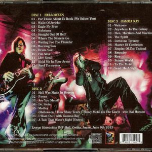2013 – Hellish Rock Part II In Osaka – 3Cd – Japan – Bootleg.