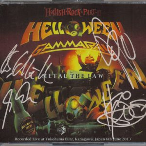 2013 – Hellish Rock Part II – Metal The Law – 3Cd – Japan – Bootleg.