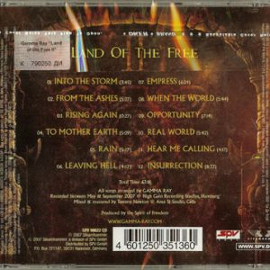 2007 – Land Of The Free II – Ukraine – Cd.