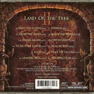 2007 – Land Of The Free II – Usa – Cd.