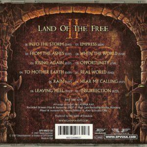 2007 – Land Of The Free II – Usa – Cd.